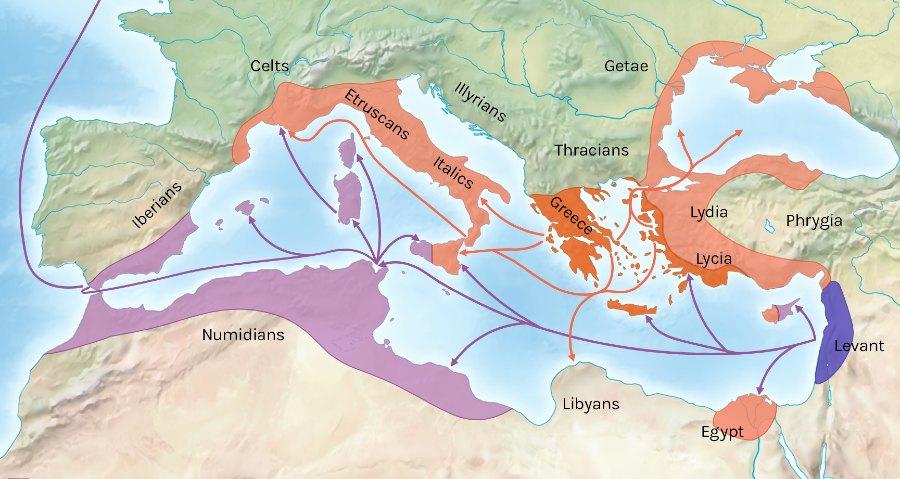 Coloniais fenicias