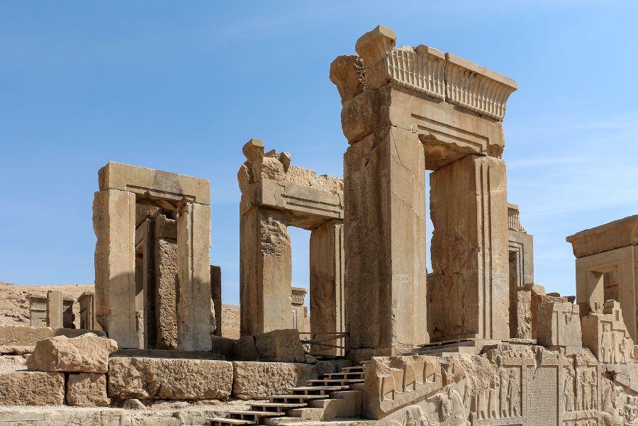 Ruinas en Persepolis